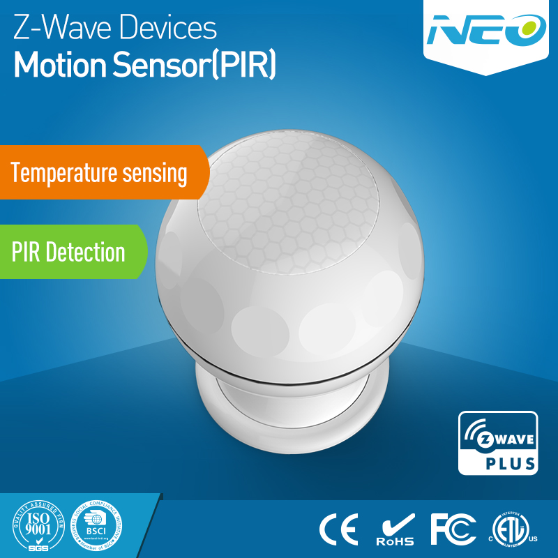 Z-Wave Pohybový PIR Sensor Magnetický
