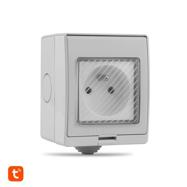 Venkovní WiFi zásuvka IP55 - Tuya