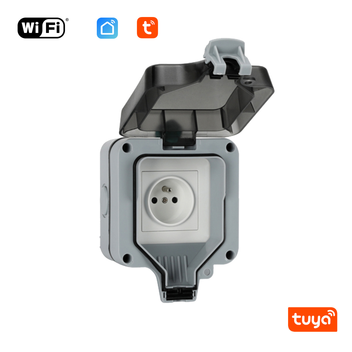 Venkovní WiFi zásuvka IP66 - Tuya