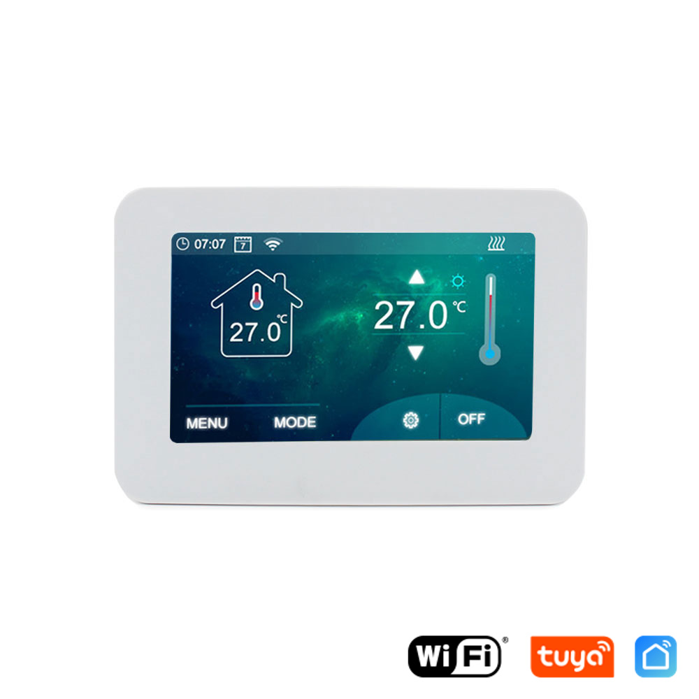 WiFi Termostat 16A HDT-ST01W - Tuya