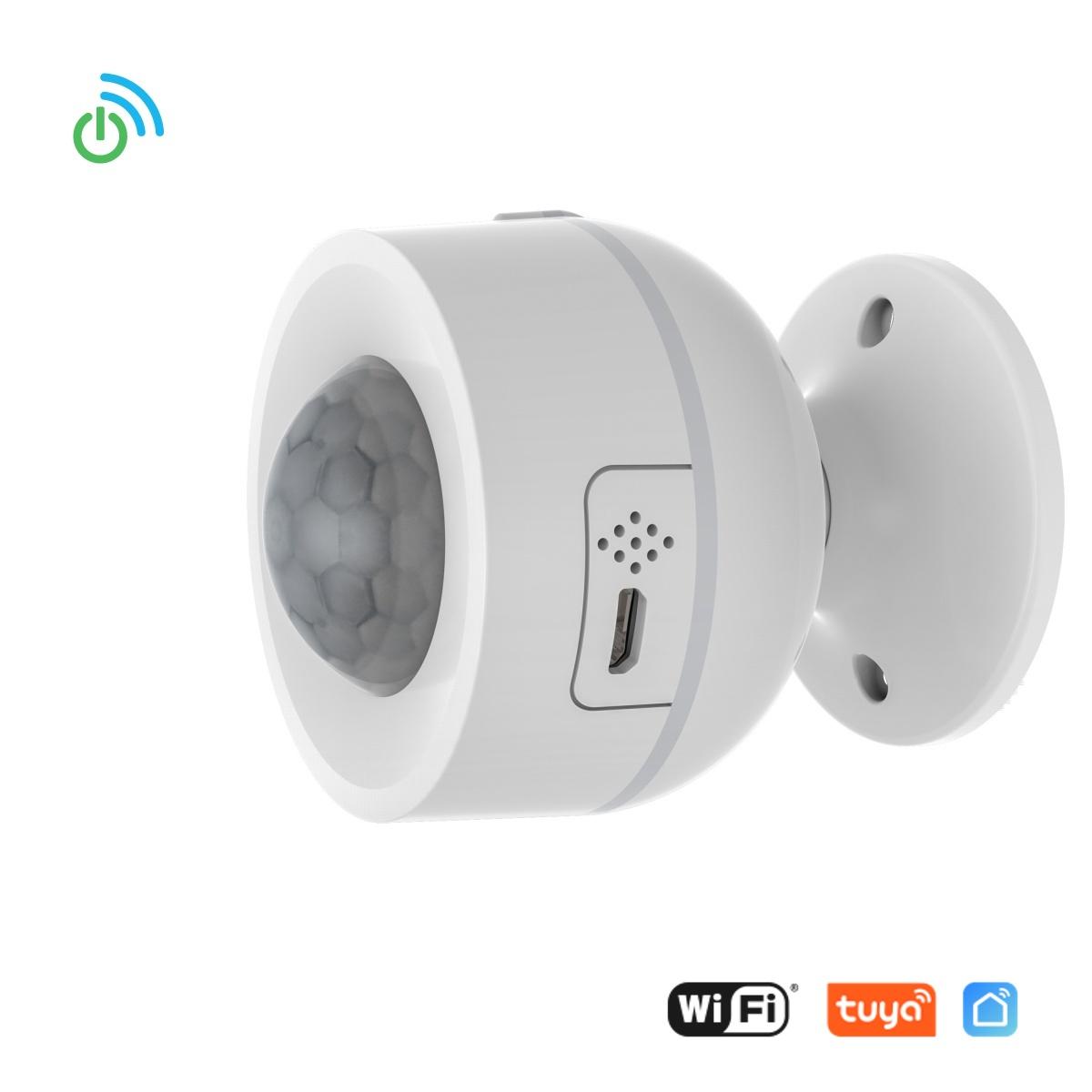 WiFi Pohybový PIR sensor USB 3v1 - Tuya