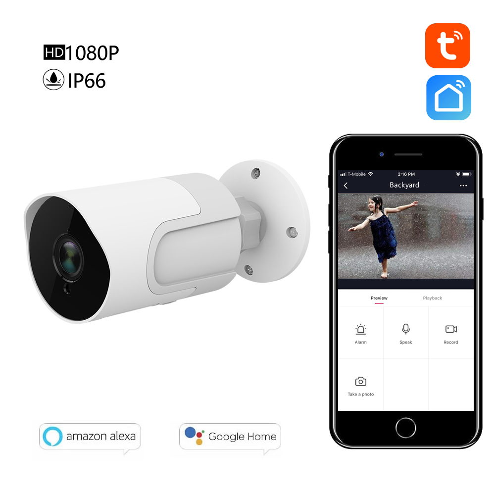 Venkovní HD Kamera 1080p - Tuya