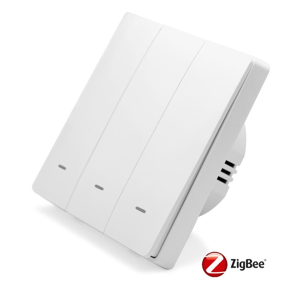 Tlačítkový ZigBee vypínač - 3CH