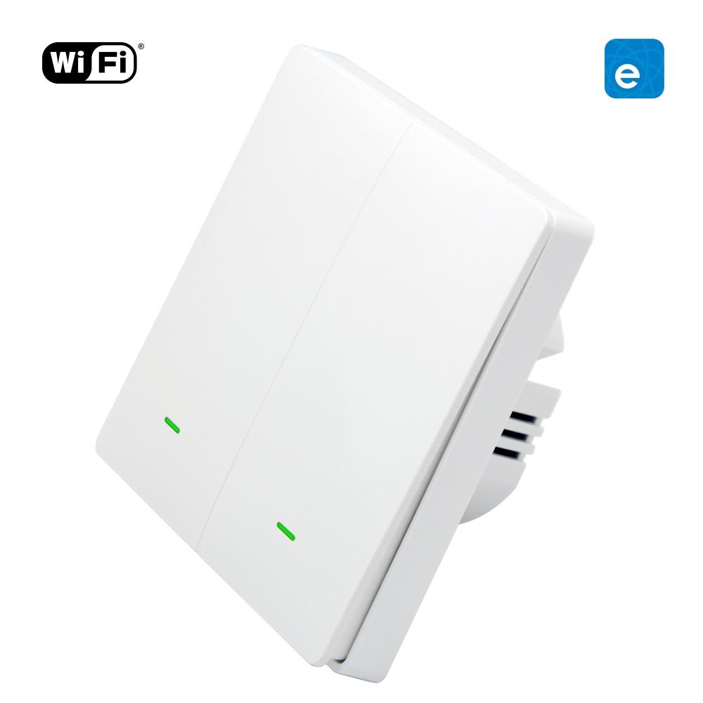 WiFi + RF Tlačítkový vypínač eWeLink 2CH