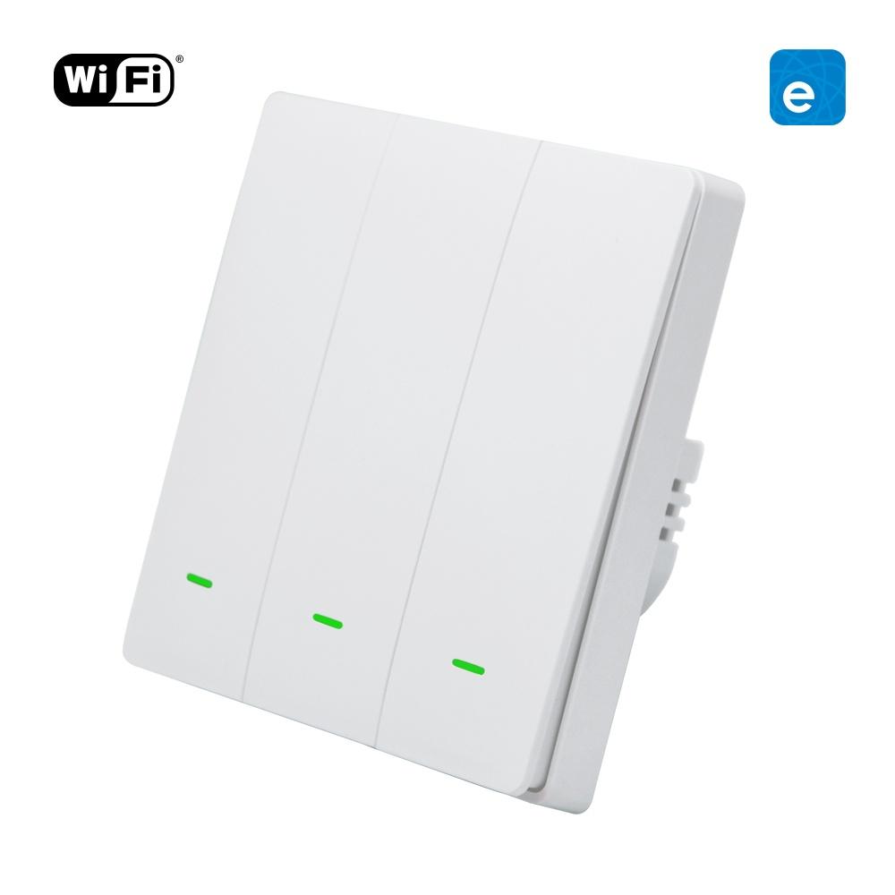 WiFi + RF Tlačítkový vypínač eWeLink 3CH