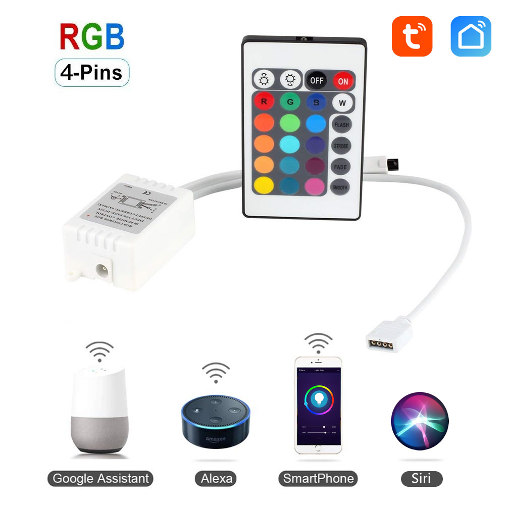 WiFi Ovladač LED RGB 12V - Tuya
