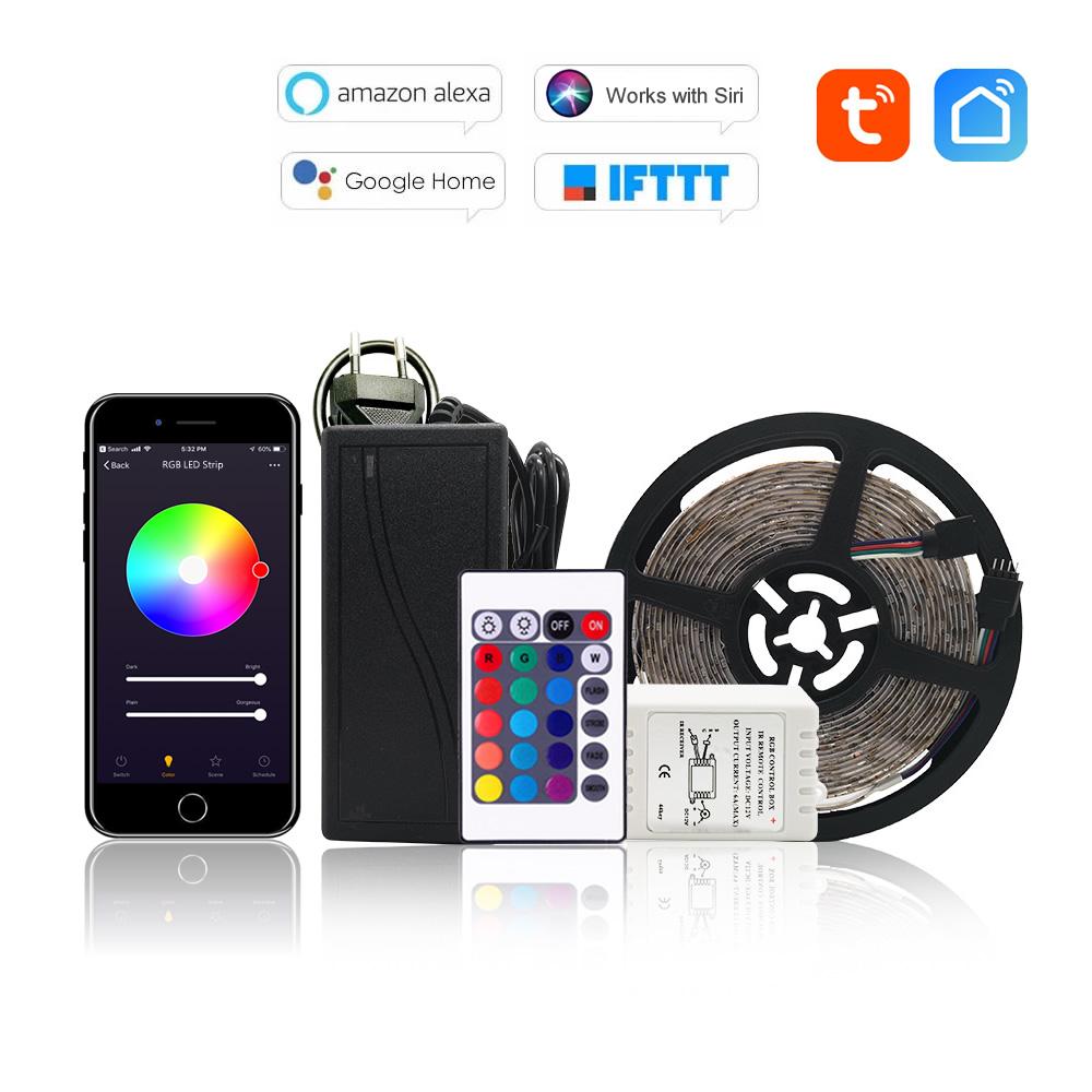 WiFi RGB LED Pásek 5m - Tuya