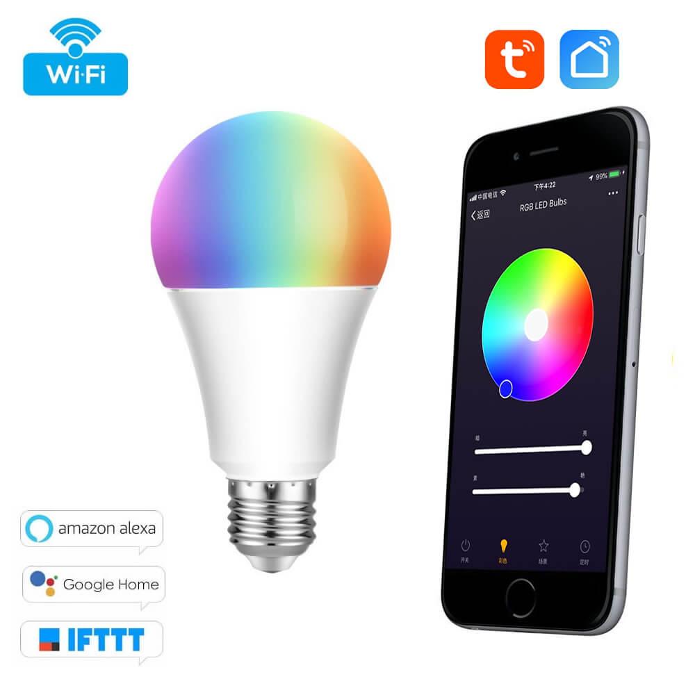 WiFi RGB Žárovka - Tuya